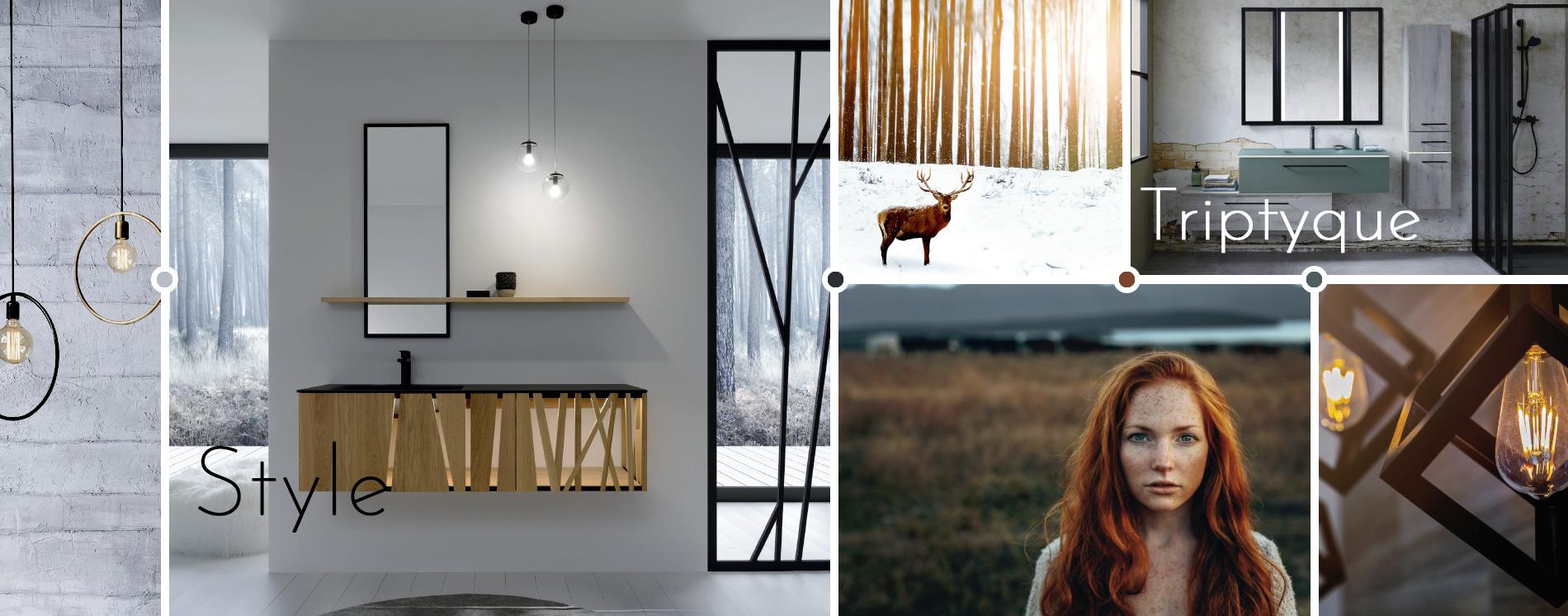 Spiegels Triptyque, Dock en Style