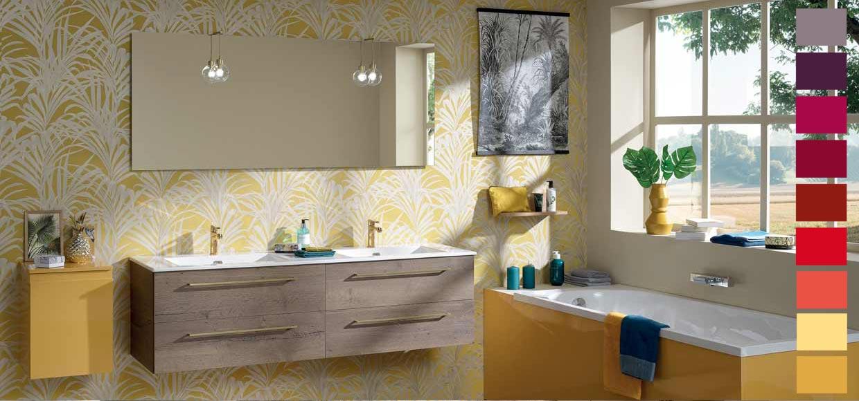 Salle de bain halo - Sanijura