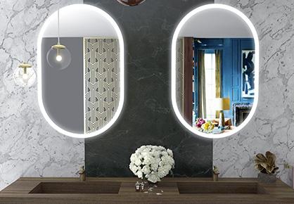 Spiegel oblong - Sanijura